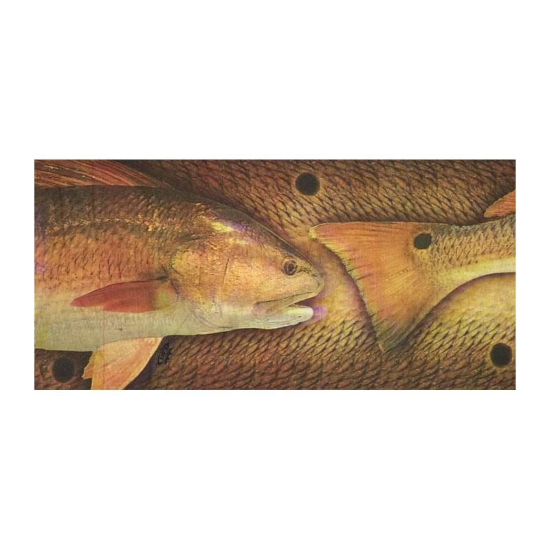 TOUR DE COU MULTIFONCTION RED FISH