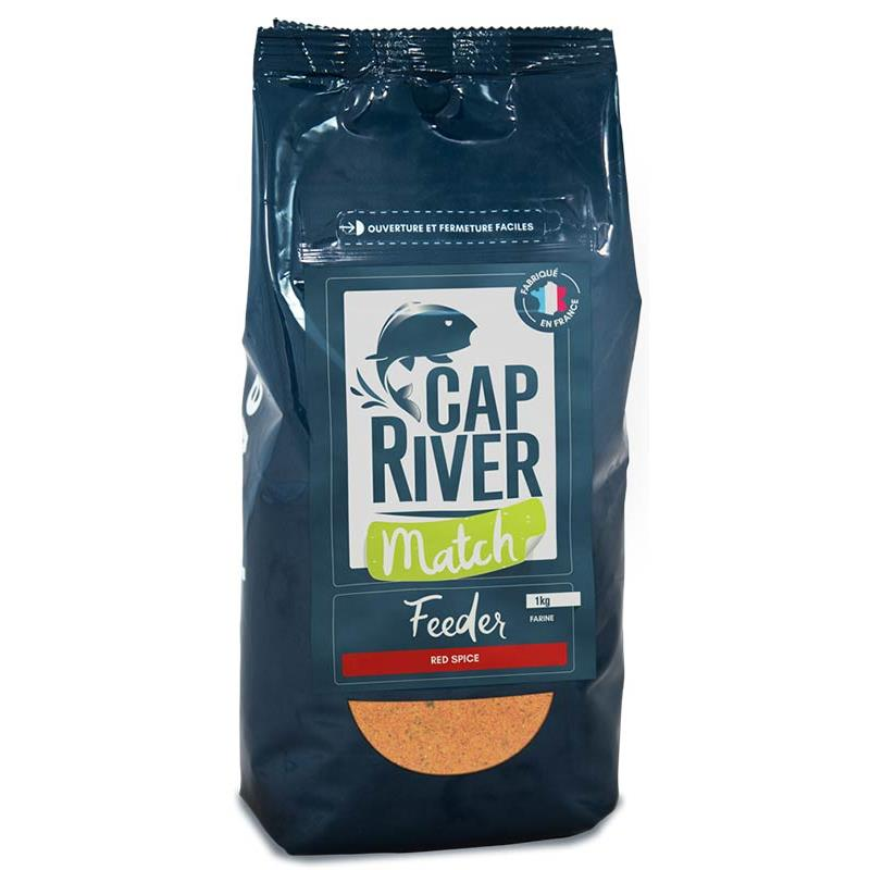 Baits & Additives Cap River FEEDER MATCH RED SPICE