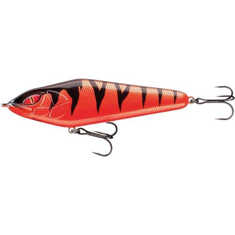Lures Daiwa PROREX LAZY JERK 120SS 12CM RED TIGER