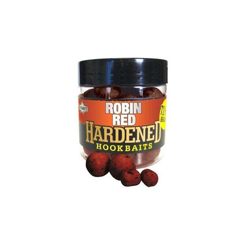 HARDENED HOOKBAITS ASSORTIMENT ROBIN RED O 15 20MM