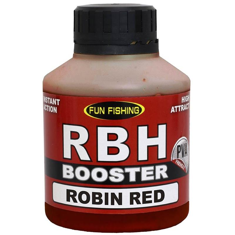 Baits & Additives Fun Fishing BOOSTER RBH 250 ML ROBIN RED