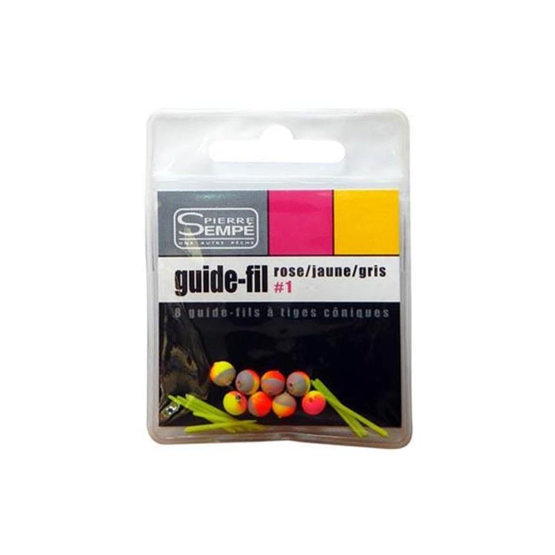 GUIDE FIL SEMPE - PAR 8 - Rose/Jaune/Gris
