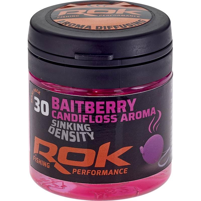 Baits & Additives Rok Fishing BAITBERRY SINKING DENSITY BAIE ARTIFICIELLE + TREMPAGE ROSE