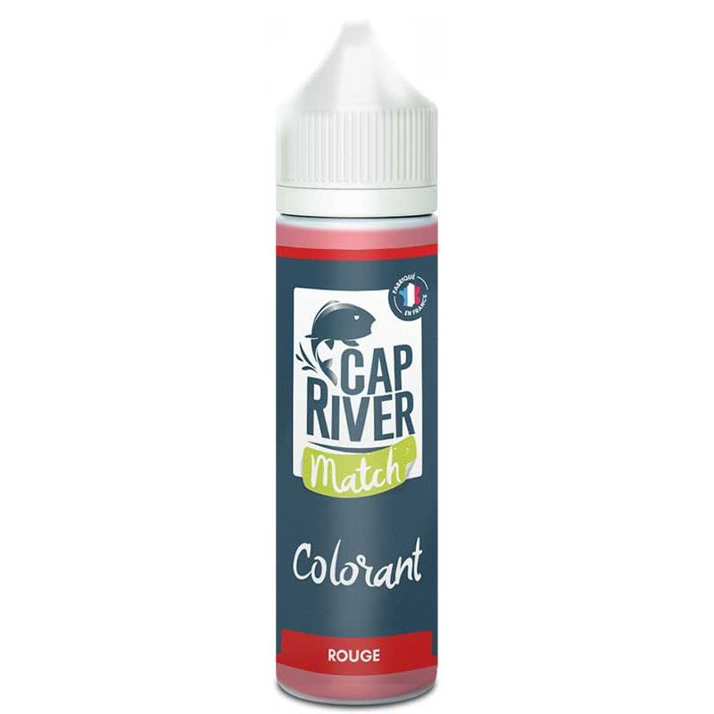 Baits & Additives Cap River MATCH COLORANT LIQUIDE ROUGE
