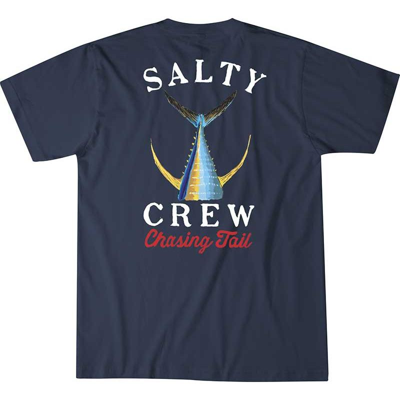 Apparel Salty Crew TAILED S/S TEE GRIS