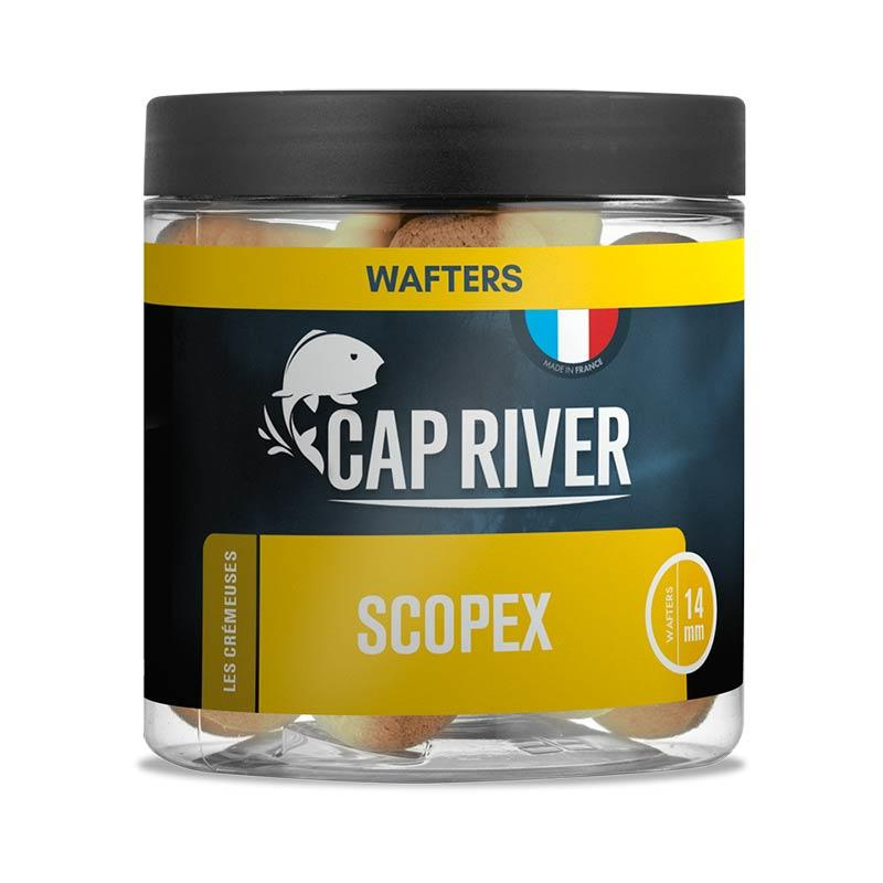 Baits & Additives Cap River WAFTERS SCOPEX 14MM