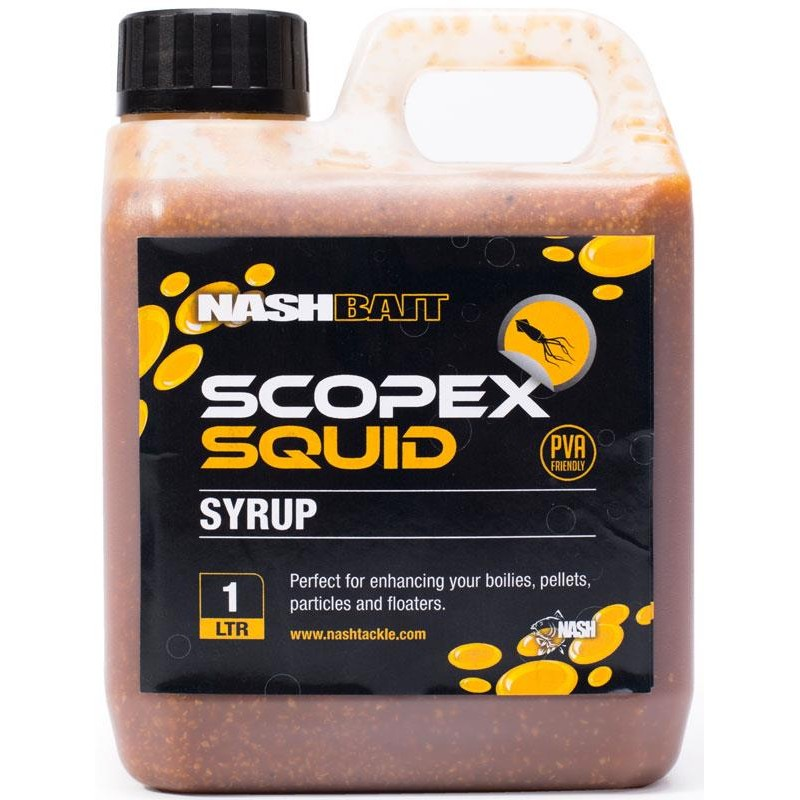 Baits & Additives Nashbait SPOD SYRUP SCOPEX SQUID