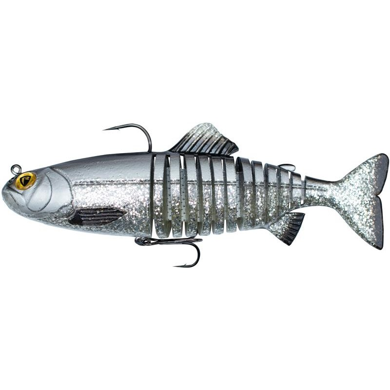 Lures Fox Rage JOINTED REPLICANT 23CM SILVER BLEAK
