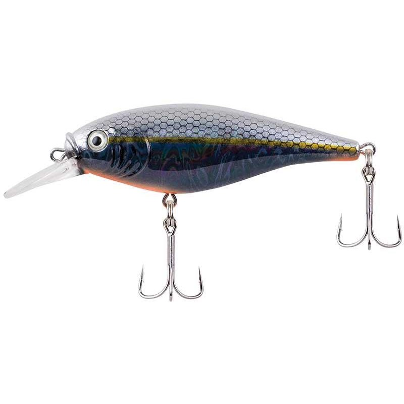 FLICKER SHAD SHALLOW SLICK 5CM SLICK BLACK PEARL