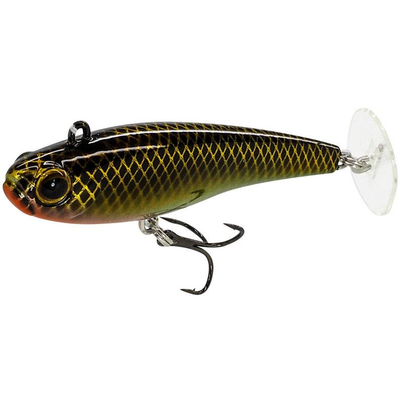 LEURRE COULANT FIIISH POWERTAIL - 6.5CM - Slow - Gold Rush