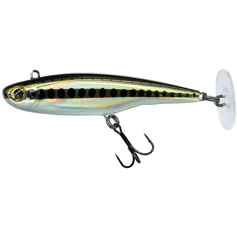 LEURRE COULANT FIIISH POWERTAIL - 6.5CM - Slow - Natural Minnow