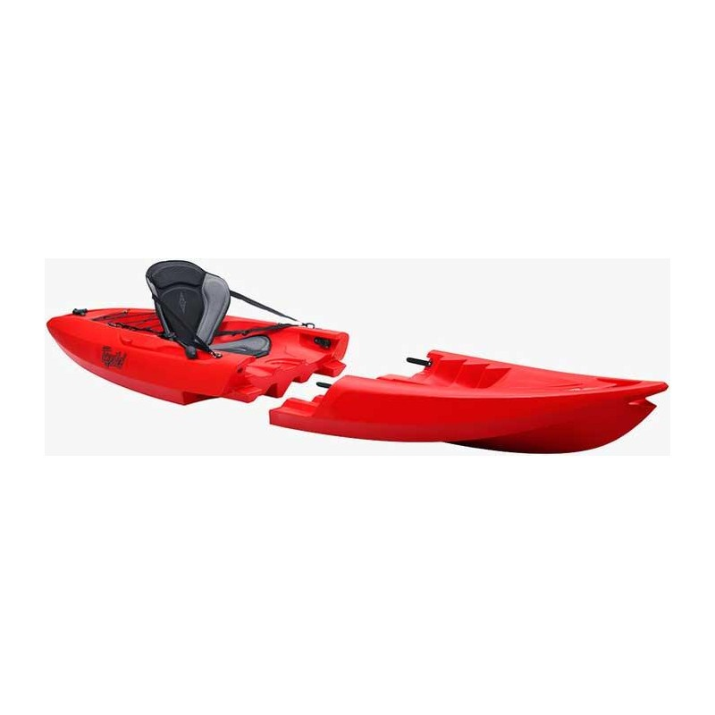 Embarcations Point 65°N TEQUILA GTX KAYAK MODULABLE SOLO ROUGE
