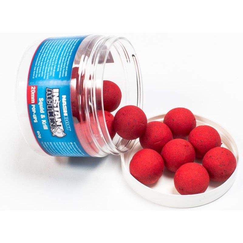 INSTANT ACTION POP UPS 20MM SQUID & KRILL