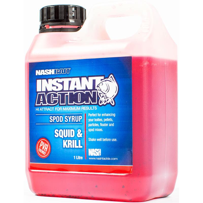 INSTANT ACTION SPOD SYRUPS SQUID & KRILL