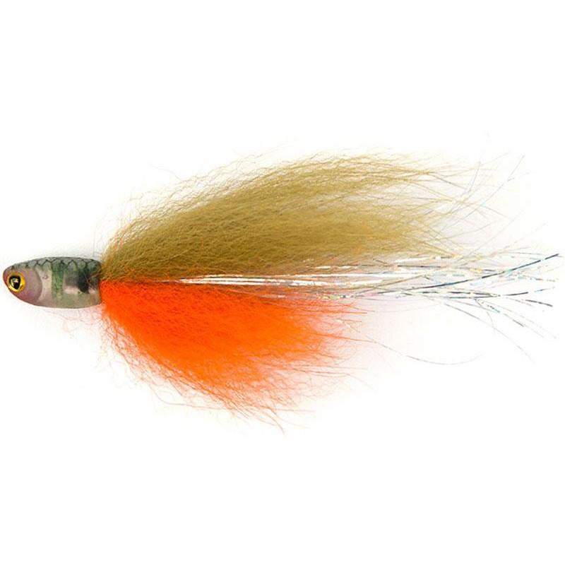 FISH SNAX DROPSHOT FLY 8CM STICKLEBACK