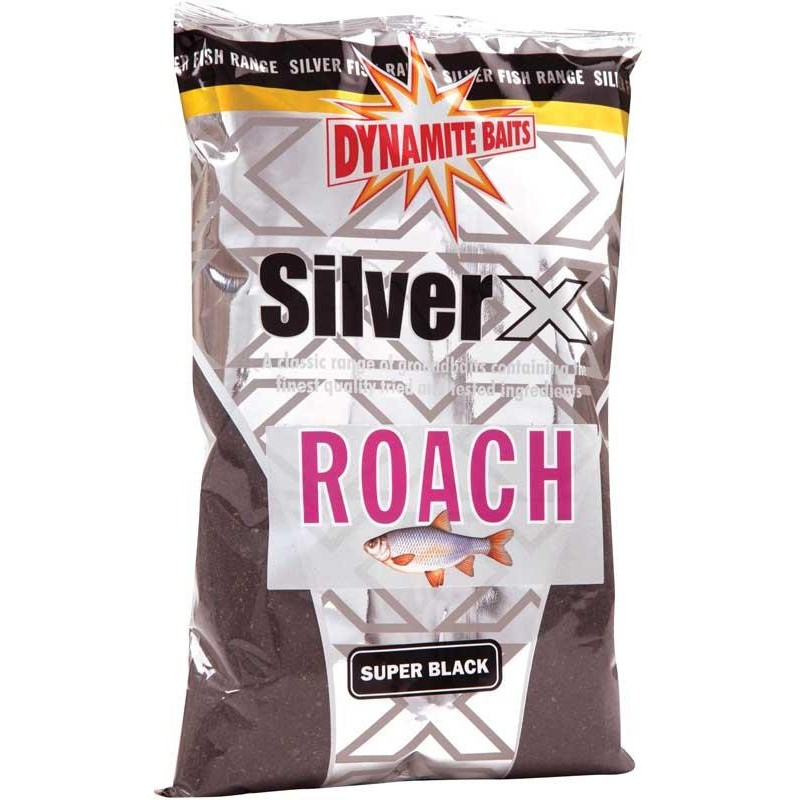 Baits & Additives Dynamite Baits SILVER X ROACH SUPER BLACK
