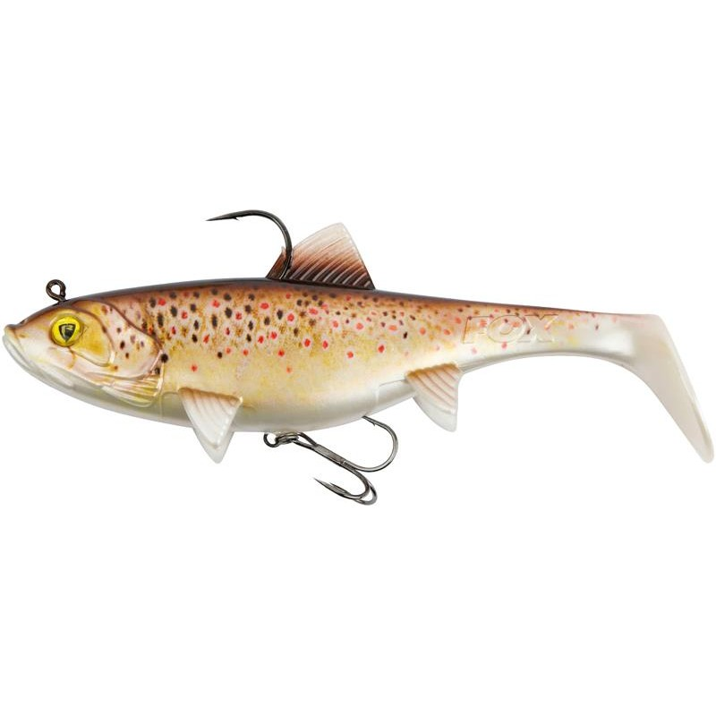MICRO REPLICANT 7.5CM SUPER NATURAL BROWN TROUT