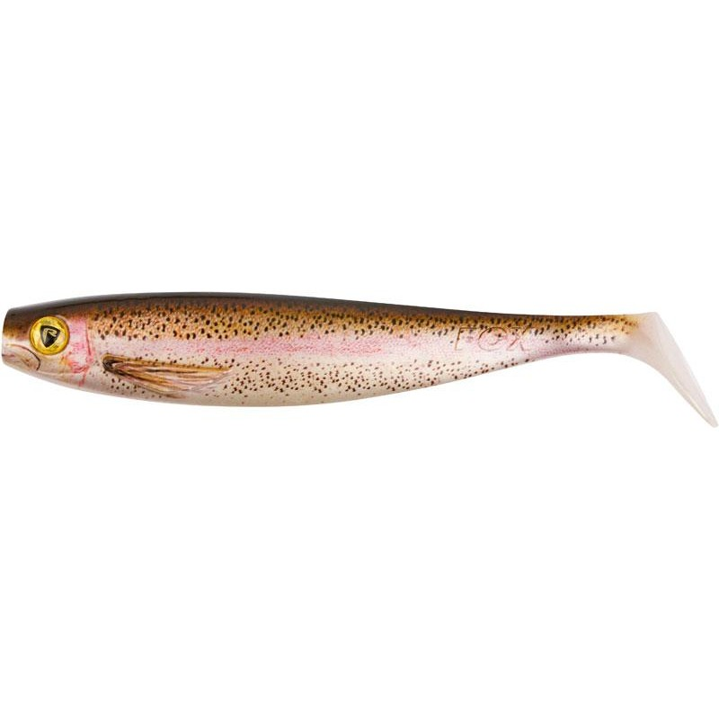Lures Fox Rage PRO SHAD NATURAL CLASSIC II 18CM SUPER NATURAL RAINBOW TROUT