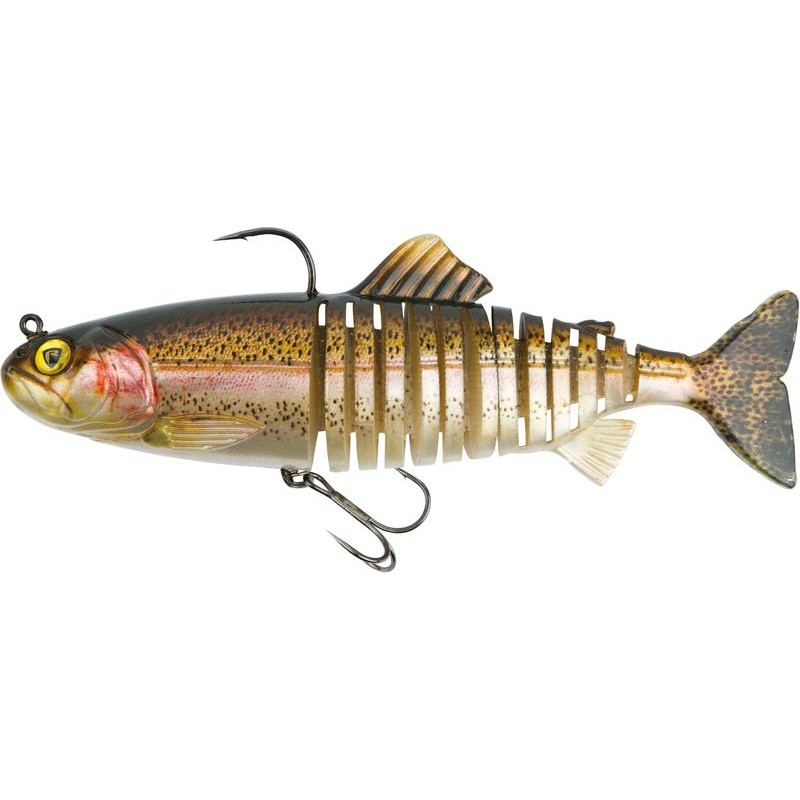 LEURRE SOUPLE ARME FOX RAGE JOINTED REPLICANT - 18CM - Super Natural Rainbow Trout