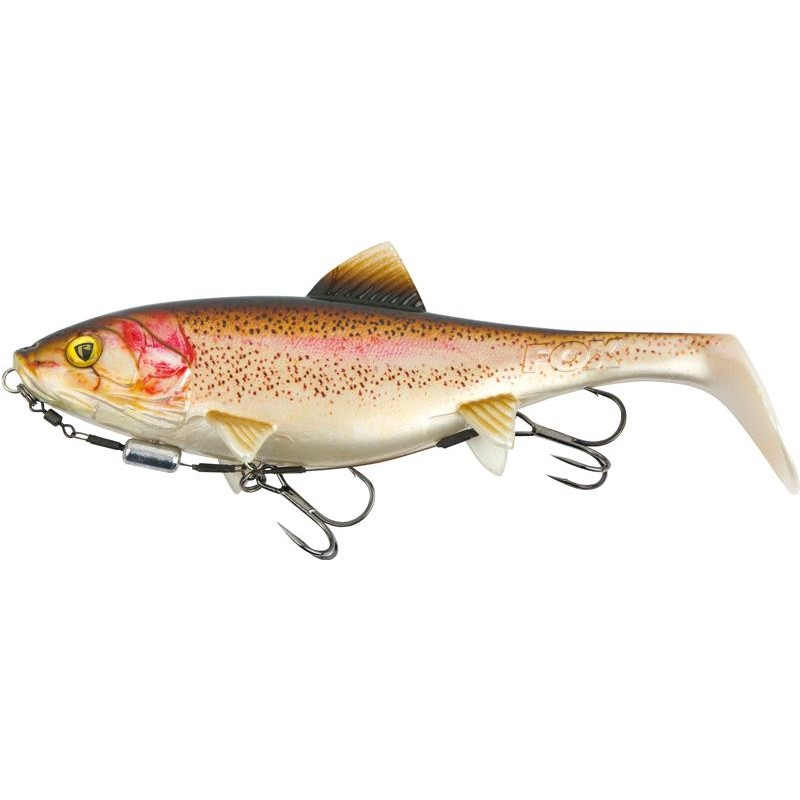 LEURRE SOUPLE ARME FOX RAGE SHALLOW REPLICANT - 18CM - Super Natural Rainbow Trout
