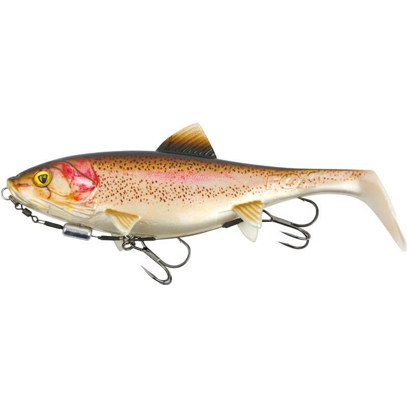 ARTIFICIALE MORBIDA MONTATA FOX RAGE SHALLOW REPLICANT - 23CM - Super Natural Rainbow Trout