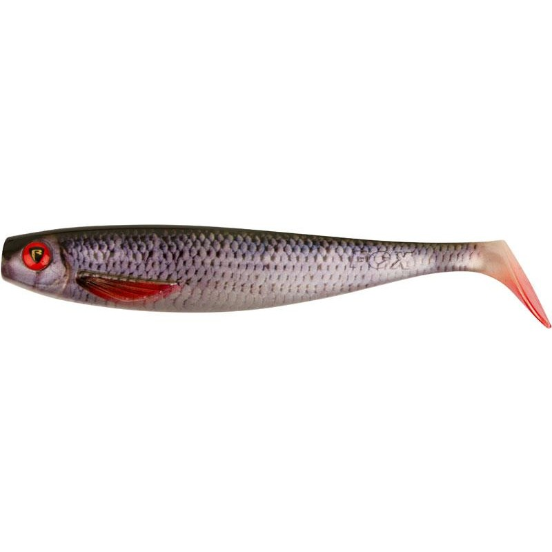 Lures Fox Rage PRO SHAD NATURAL CLASSIC II 23CM SUPER NATURAL ROACH