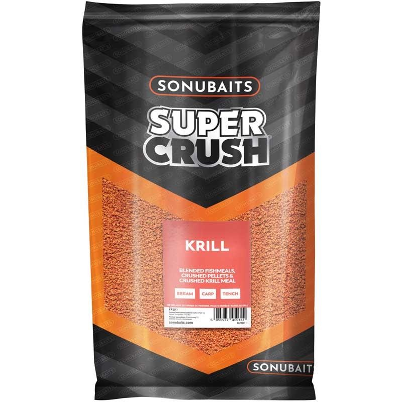 Baits & Additives Sonubaits SUPER CRUSH SUPERCRUSH KRILL