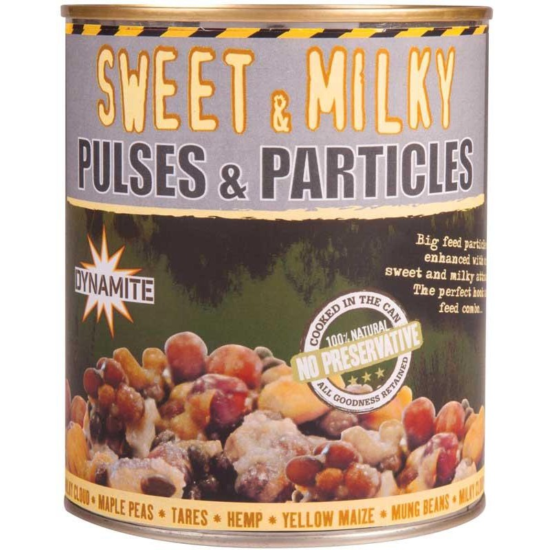 FRENZIED PULSES & PARTICLES SWEET & MILKY 700G