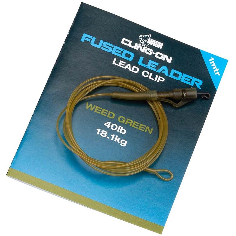 Tying Nash CLING ON FUSED LEAD CLIP LEADER T8172