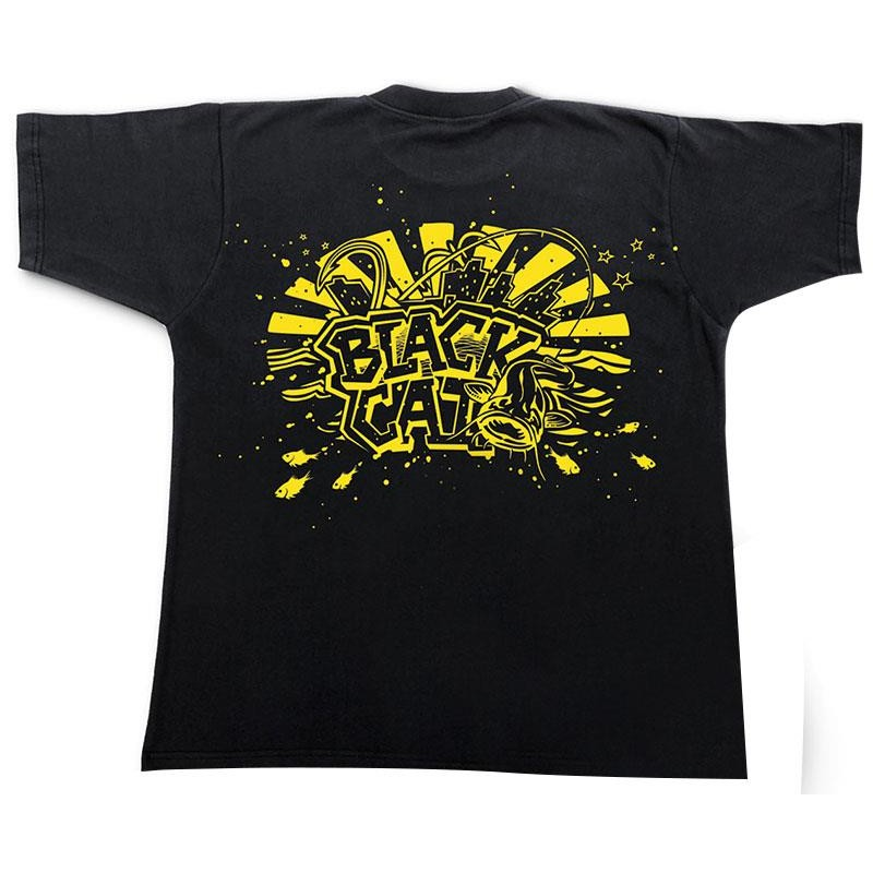 Apparel Black Cat TEE SHIRT MANCHES COURTES HOMME TAILLE XL