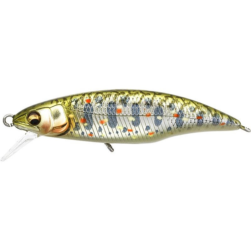 Lures Megabass GREAT HUNTING FLAT SIDE 5CM TAKUMI KAWA MASU