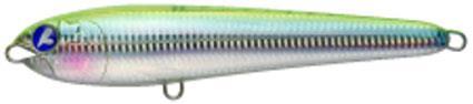 Lures Blue Blue GACHIPEN 200 20CM TRANSPARENT CHARTREUSE SILVER