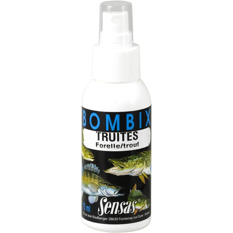 ATTRACTANT AROME SPRAY SENSAS BOMBIX - Truite