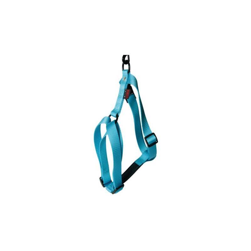 HARNAIS CHIEN NYLON UNI CONFORT MARTIN SELLIER - Turquoise - 35-50cm