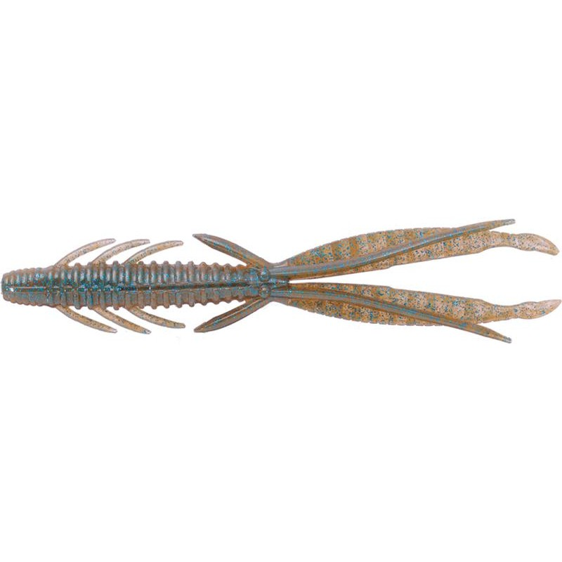 "Lures O.S.P DOLIVE SHRIMP 4"" DOLIVE SHRIMP 4 10CM TW112 - BLUE BACK CINNAMON"