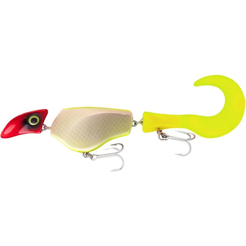 Lures HeadBanger TAIL LEURRE SUSPENDING 23CM UV CLOWN