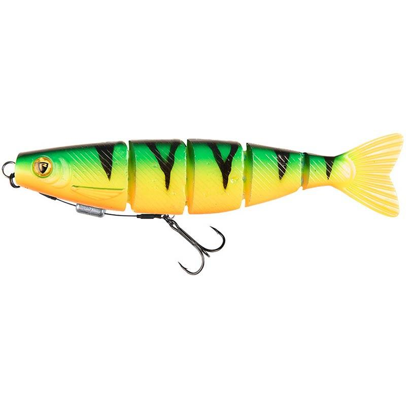 Lures Fox Rage PRO SHAD JOINTED LOADED 18CM UV FIRE TIGER