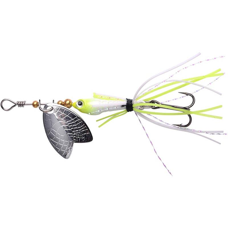 Lures Spro LARVA MAYFLY 4G UV PEARL