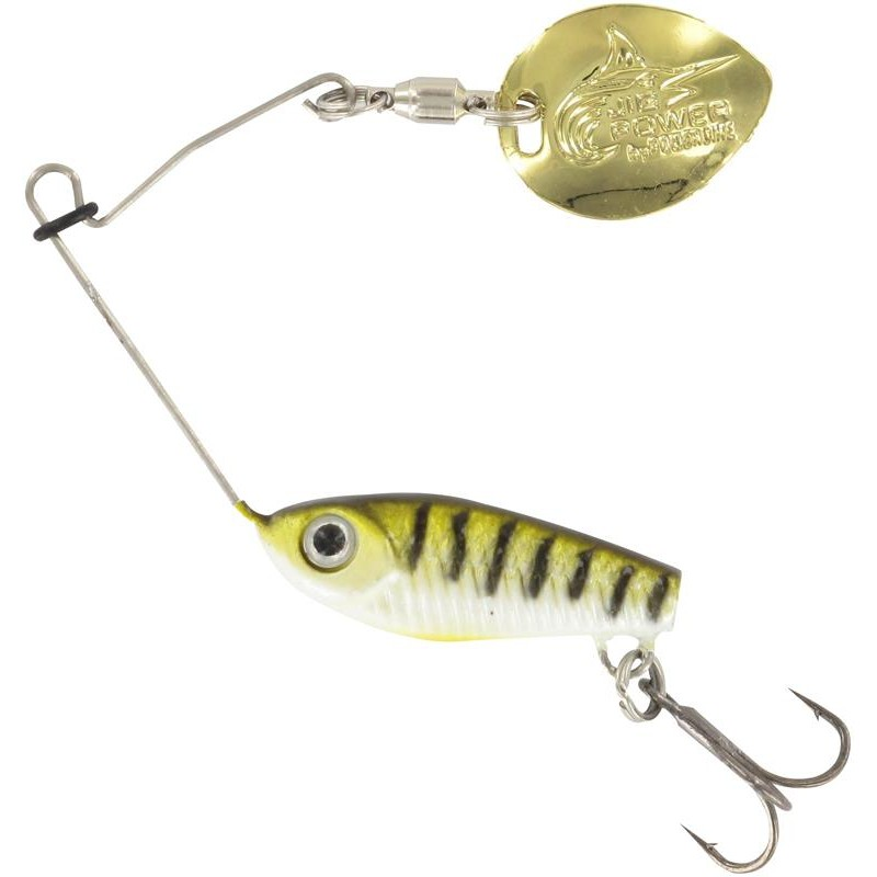 Lures Powerline JIG POWER YOGOSPIN 5G VAIRON PALETTE DORÉE