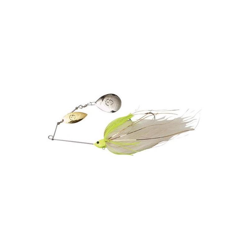 SPINNERBAIT SAVAGE GEAR DA' MEGA BUSH - 55G - White Chartruese