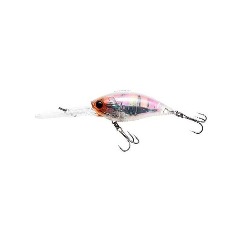 LEURRE FLOTTANT YO-ZURI 3DR DEEP CRANK - 7CM - White Crawfish