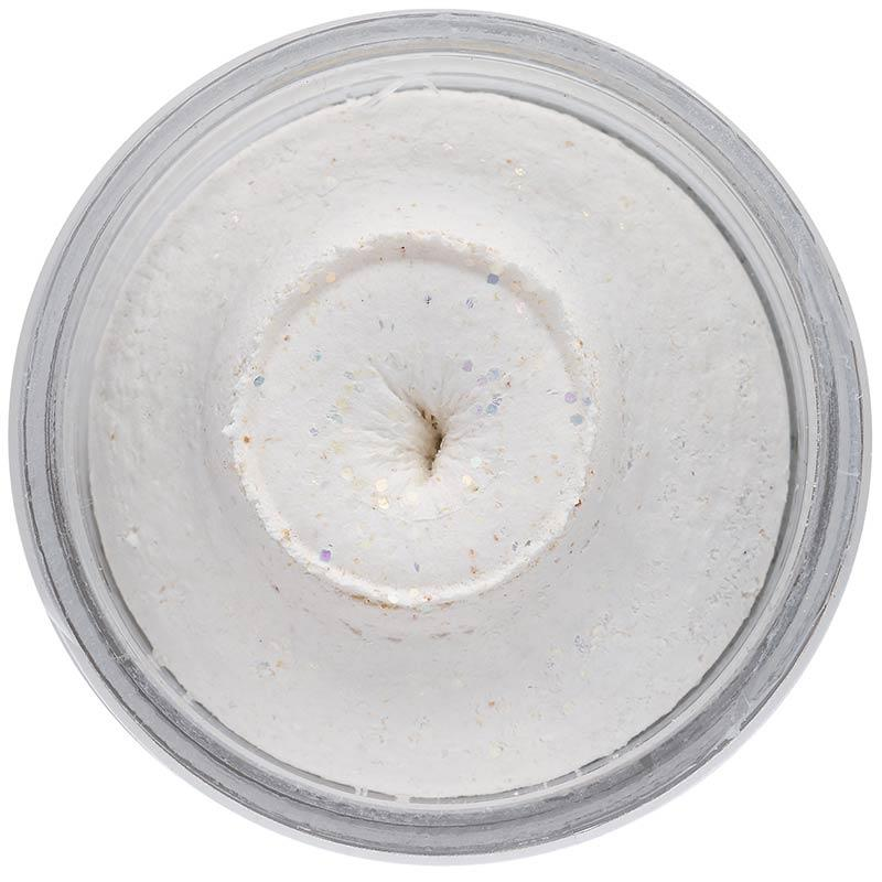 POWERBAIT NATURAL GLITTER TROUT BAIT WHITE
