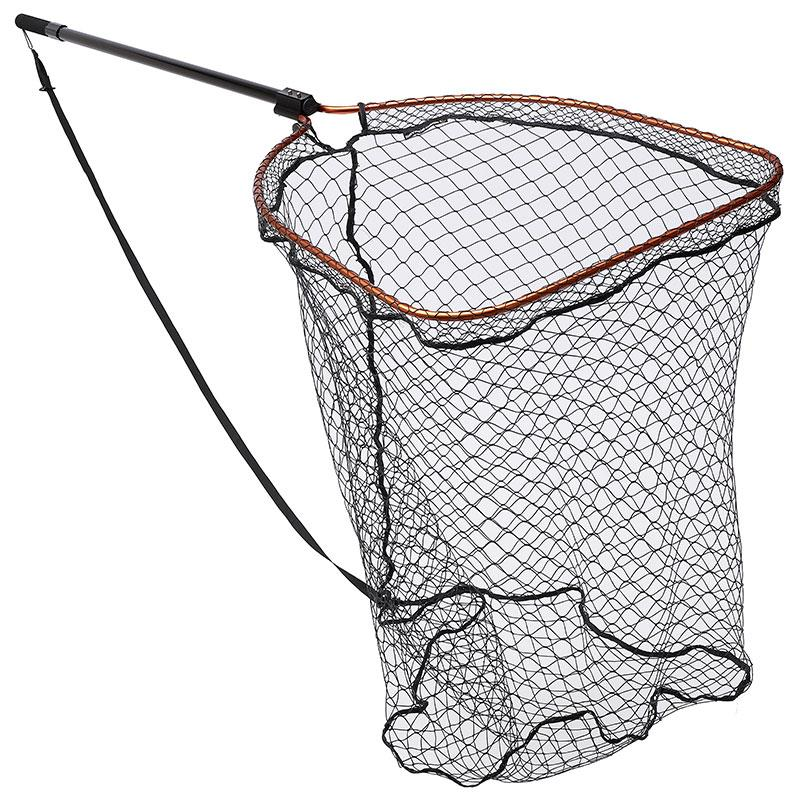 Accessories Savage Gear COMPETITION PRO LANDING NETS EXTRA LARGE RUBBER MESH XL (70X85CM) 120 200CM