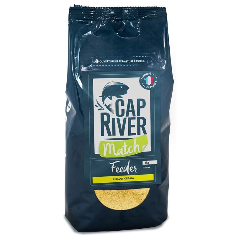 Baits & Additives Cap River FEEDER MATCH YELLOW CREAM