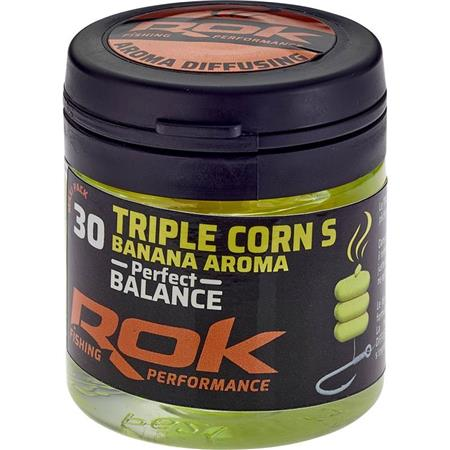 MAIS ARTIFICIEL + TREMPAGE ROK FISHING TRIPLE CORN S PERFECT BALANCE