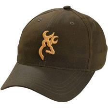 MAN CAP BROWNING DURAWAX - BROWN