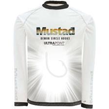 MAN LONG-SLEEVED T-SHIRT MUSTAD DAY PERFECT SHIRT WHITE