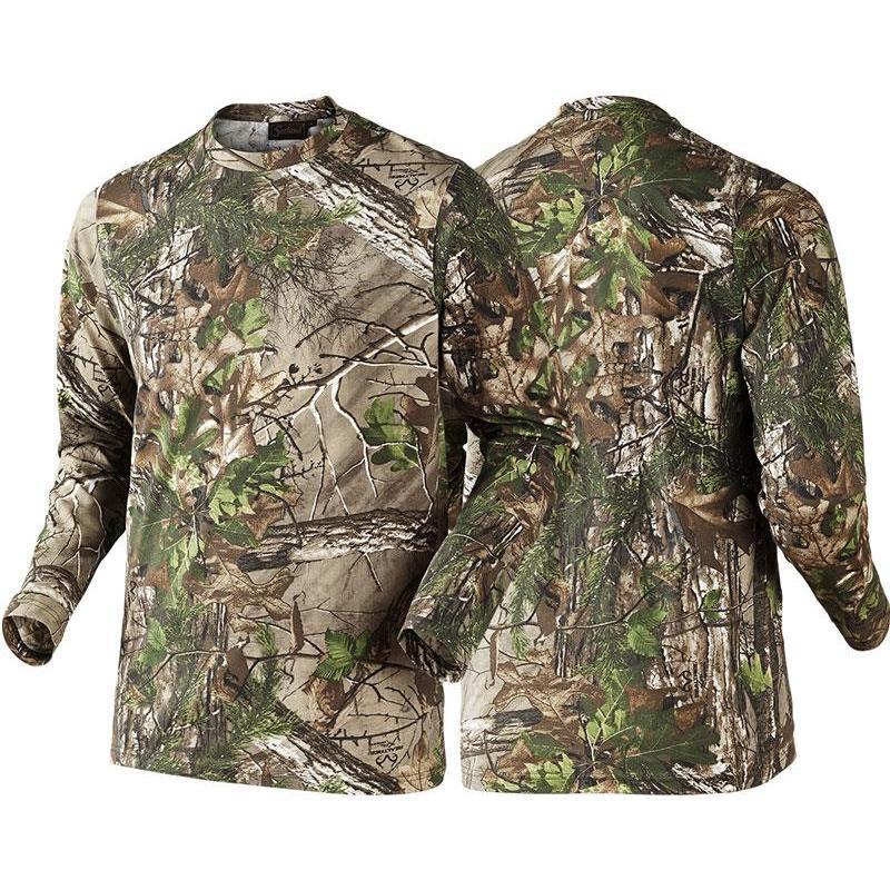 man long sleeved t shirt seeland cam camo
