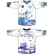 MAN LONG-SLEEVED T-SHIRT VOLKIEN LABRAX - WHITE