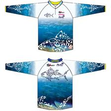MAN LONG-SLEEVED T-SHIRT VOLKIEN MAGURO - BLUE